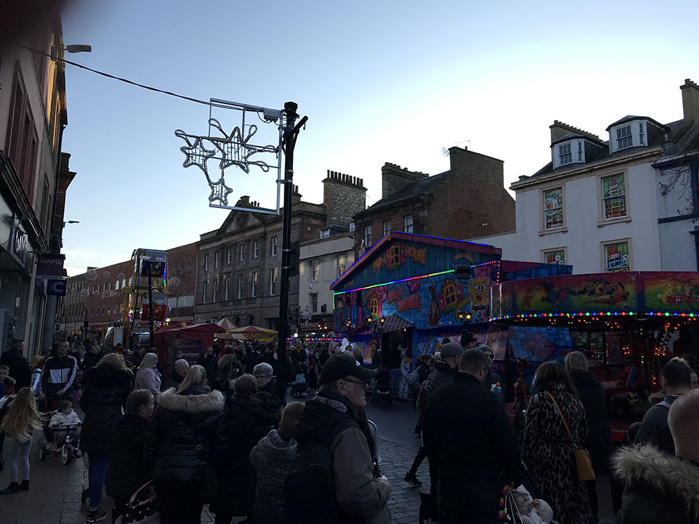 Ayrshire Christmas Lights Switch On 2019