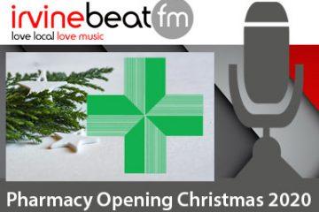 Christmas New Year Pharmacies 2020 Ayrshire
