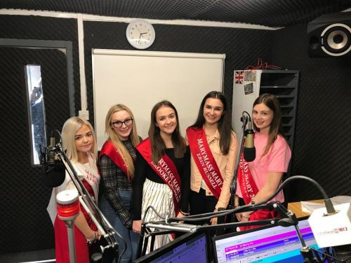 Marymass Queen Elect & Marys on Irvine Beat FM